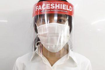 Jual Face Shield Custom Murah Palembang