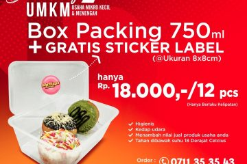 Wadah Box Packaging Berkualitas di Linggau